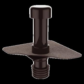 Sanitation vent with integrated bitumen sleeve